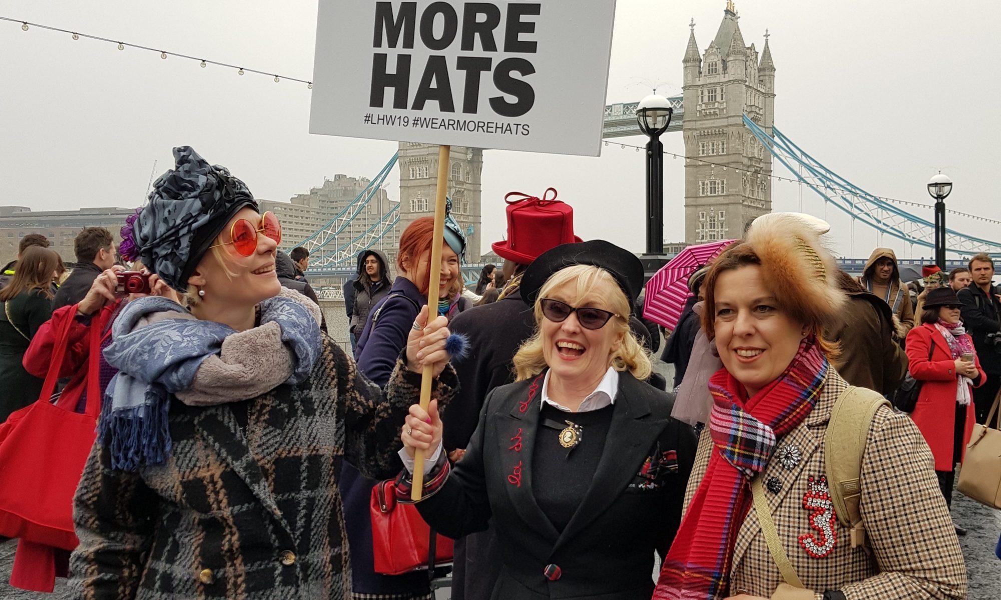 Hat Walk London hat Week 2019